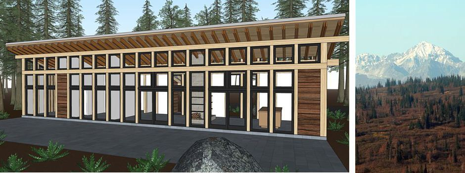 luxury remote lodging, fractional ownership, alaskan cabin