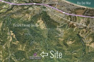 aptos land for sale, santa cruz land for sale, aptos mountain residence